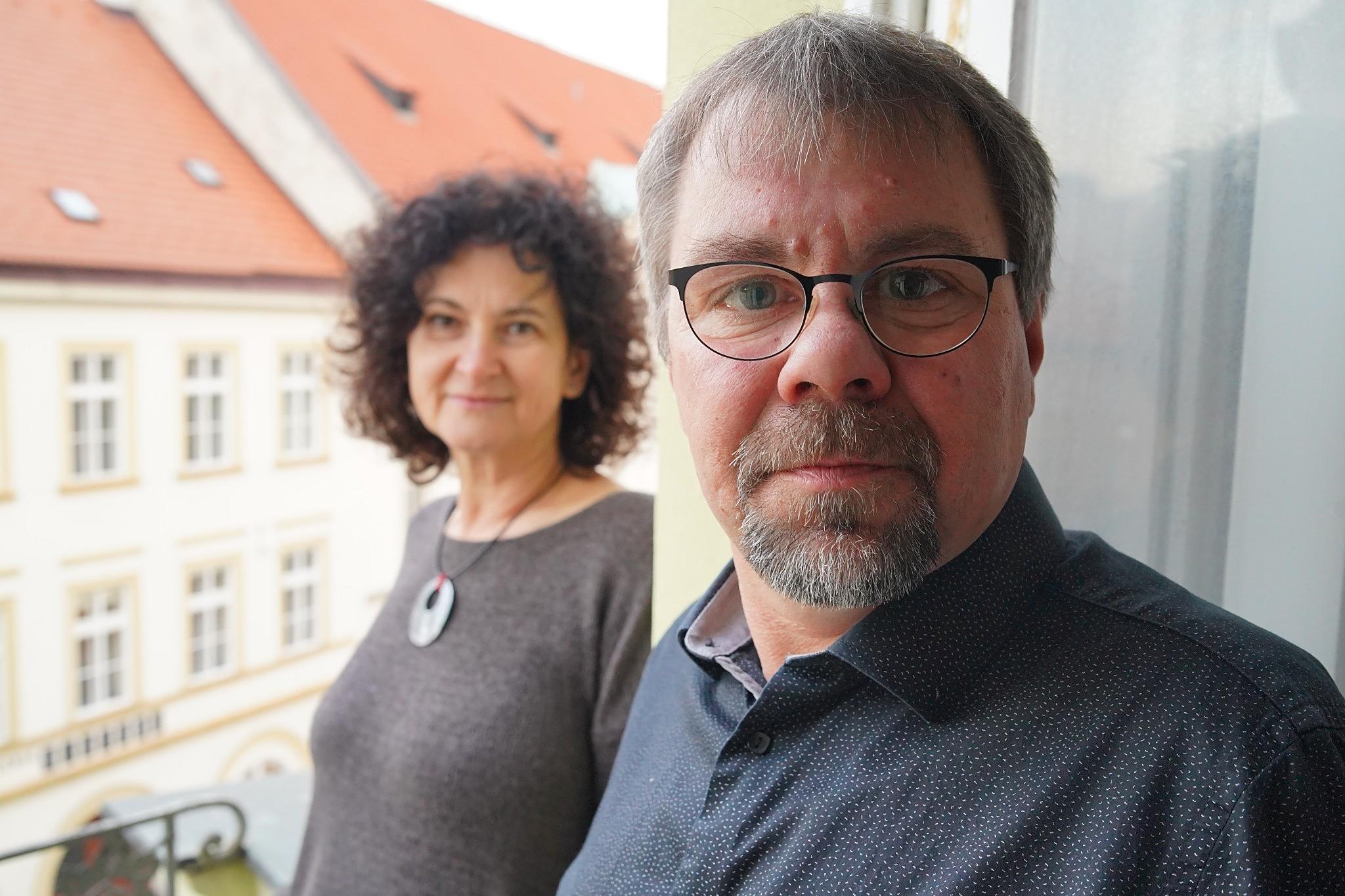 Pavel Fiedler a Ester Havlová na D-dur
