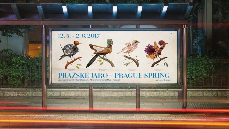 Plakát k 72. ročníku Pražského jara
