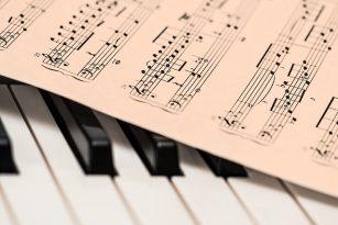 Klavír, noty